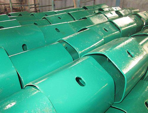 喷塑防阻块(绿色)