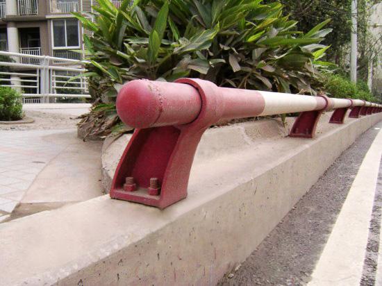 一根管防撞护栏